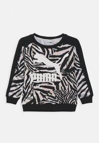 Puma - CLASSICS SAFARI CREW - Mikina - white/black - 0