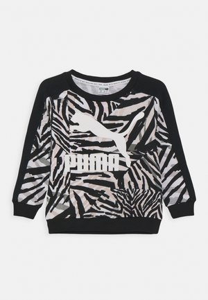 CLASSICS SAFARI CREW - Sweater - white/black