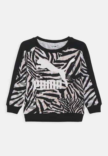 CLASSICS SAFARI CREW - Sweater - white/black