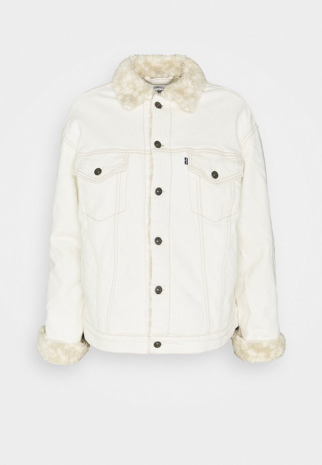 TRUCKER - Denim jacket - offwhite