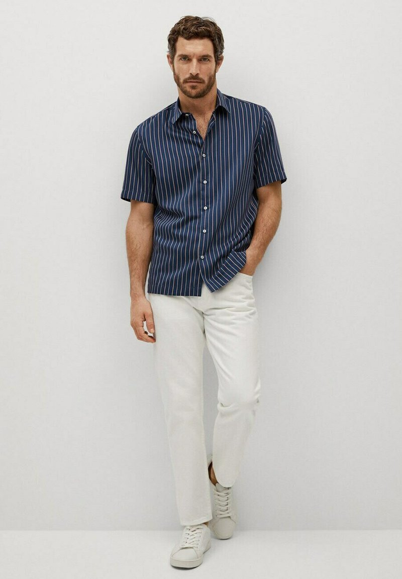 Mango - FERRI - Shirt - marineblau