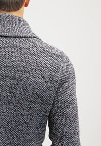 Pier One - Strikjakke /Cardigans - dark grey melange - 5