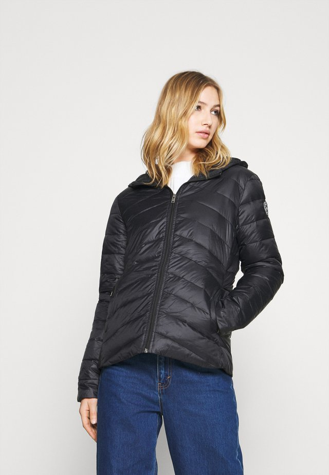 COAST ROAD HOODED - Veste mi-saison - anthracite