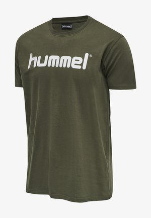 HMLGO - Print T-shirt - grape leaf