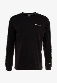 Champion - LONG SLEEVE CREWNECK  - Långärmad tröja - black - 4
