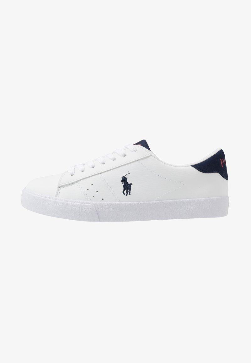 Laltro giorno impronta digitale fatica  Polo Ralph Lauren THERON - Sneakers basse - white/navy/bianco - Zalando.it