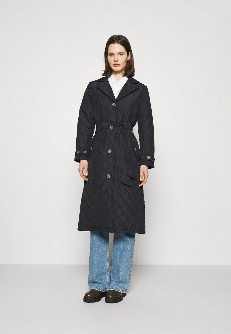 Freequent - URBAN - Classic coat - black