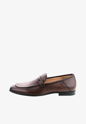 TERLAN - Smart slip-ons - brown