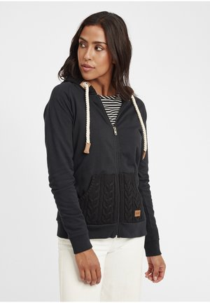 MATILDA - Zip-up hoodie - black
