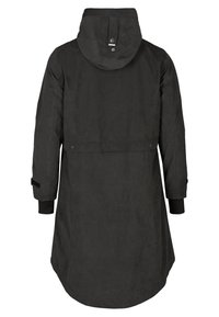 Zizzi - VERSTELLBARER - Waterproof jacket - black - 4