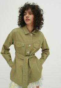 EDITED - Short coat - oliv - 0