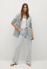 Mango - MIT TASCHEN - Summer jacket - himmelblau - 1