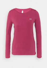 Under Armour - UA ARMOUR LONG SLEEVE - Maglietta a manica lunga - pink quartz - 0