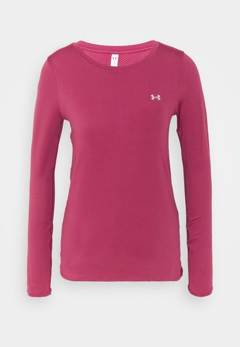 UA ARMOUR LONG SLEEVE - Maglietta a manica lunga - pink quartz