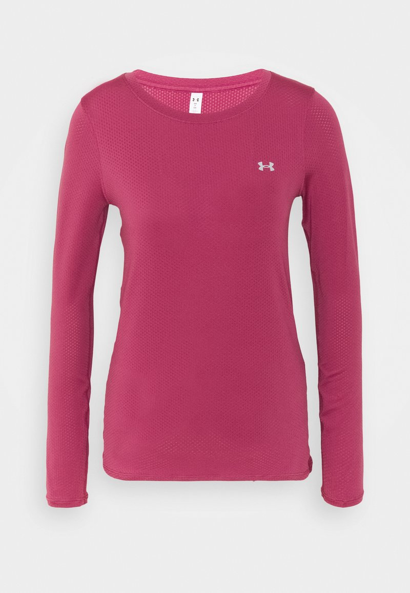 Under Armour - UA ARMOUR LONG SLEEVE - Maglietta a manica lunga - pink quartz