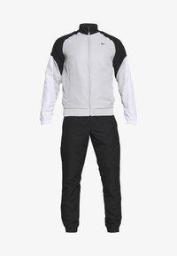 Lacoste Sport - TRACKSUIT - Träningsset - calluna/black/white - 9