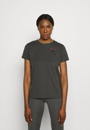 RUN ANYWHERE SHORT SLEEVE - T-shirts med print - grey