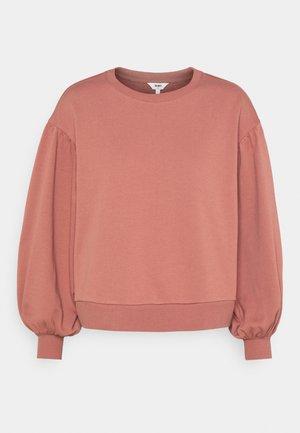 OBJANDORA - Sweater - withered rose