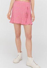 PULL&BEAR - Áčková sukně - rose - 0