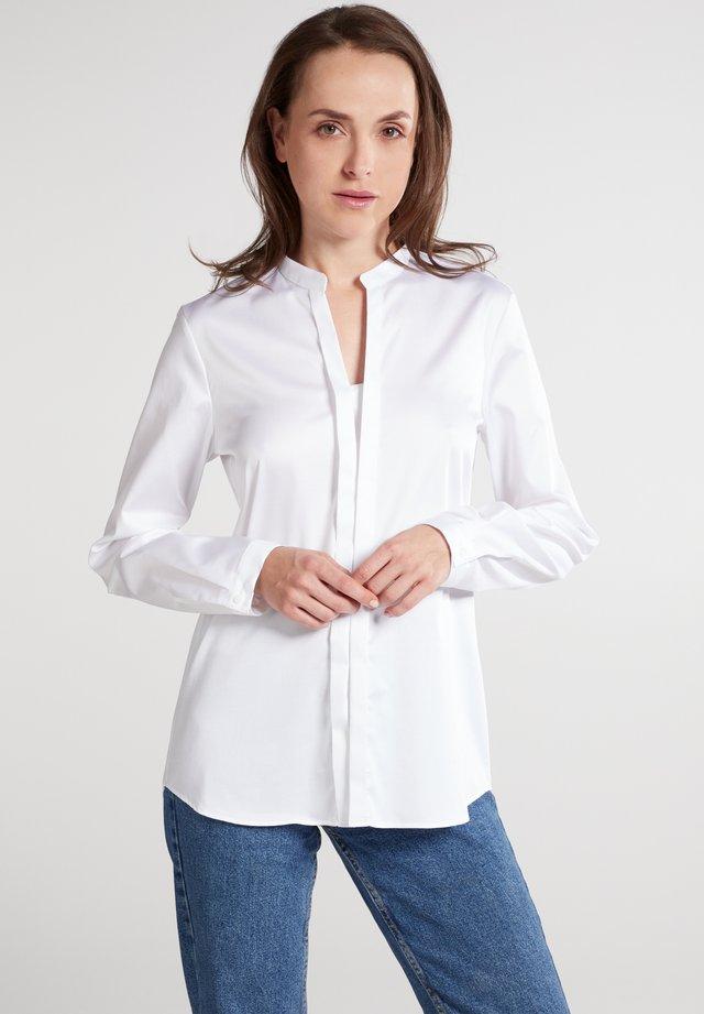 MODERN CLASSIC REGULAR FIT - Button-down blouse - weiß