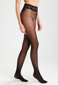 Falke - FALKE SENSATION 20 DENIER STRUMPFHOSE TRANSPARENT MATT  - Tights - black - 0