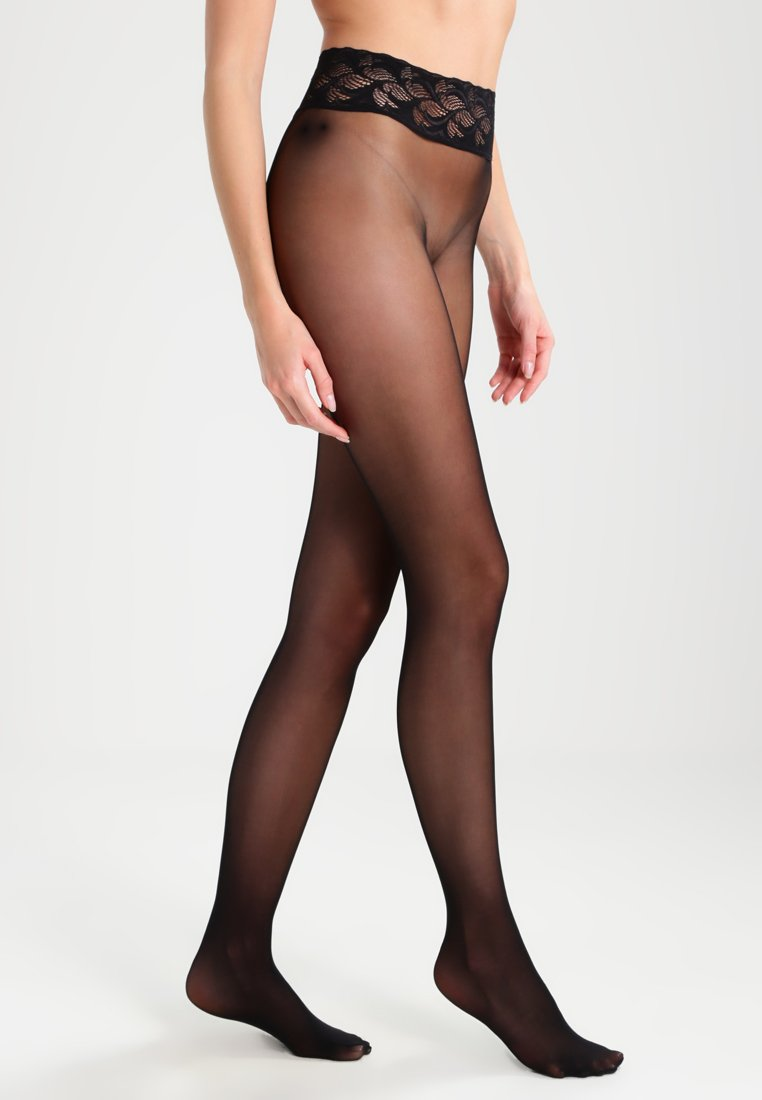 Falke - FALKE SENSATION 20 DENIER STRUMPFHOSE TRANSPARENT MATT  - Tights - black