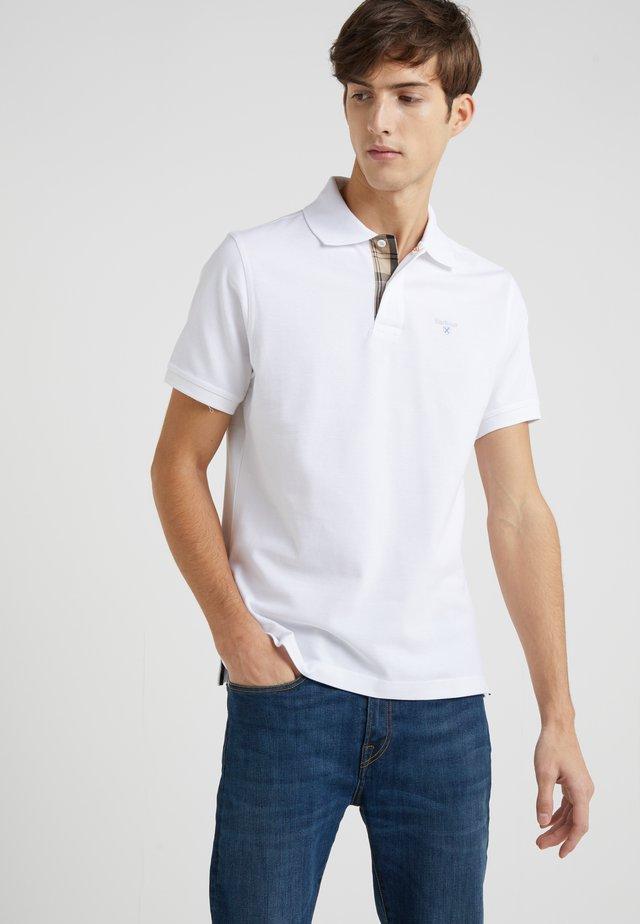 TARTAN  - Poloshirt - white