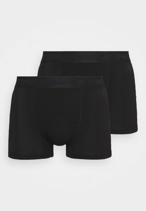 Men's underwear 2 PACK - Pants - black
