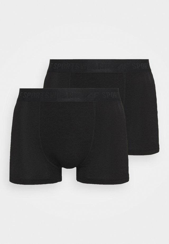 Men's underwear 2 PACK - Pants - black