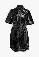 KARLA DRESS - Shirt dress - black