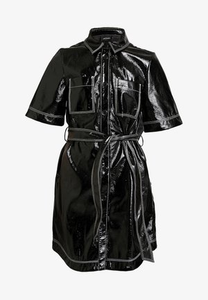 KARLA DRESS - Shirt dress - black