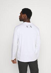 Armani Exchange - Long sleeved top - white - 2