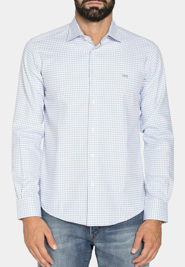 Camicia - bianco/azzurro