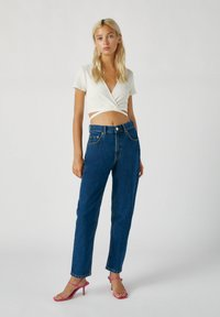 PULL&BEAR - Straight leg jeans - stone blue denim - 1