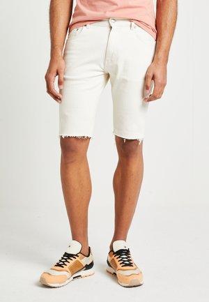 UNISEX LEWIS HAMILTON SLIM - Shorts di jeans - offwhite