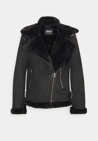 ONLY - ONLMARIA AVIATOR - Faux leather jacket - black - 4