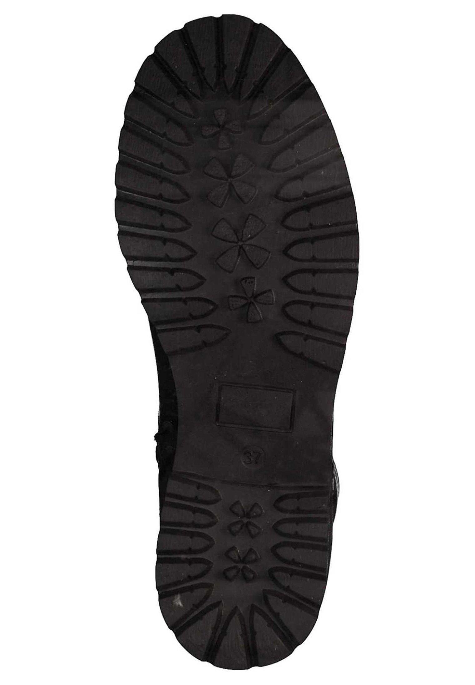 Tamaris Plateaustiefelette black 1/schwarz