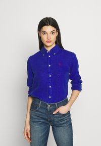 Polo Ralph Lauren - RELAXED LONG SLEEVE - Camisa - royal blue - 0