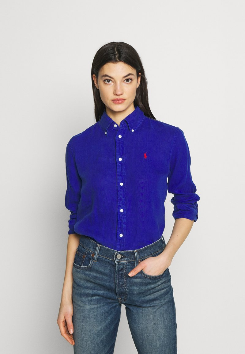 Polo Ralph Lauren - RELAXED LONG SLEEVE - Camisa - royal blue