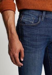 camel active - HOUSTON - Straight leg jeans - dark blue denim - 3