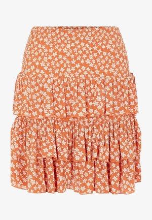 YASLURA SKIRT - A-line skirt - raw sienna