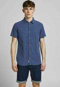 Jack & Jones PREMIUM - Shirt - dark blue denim - 0