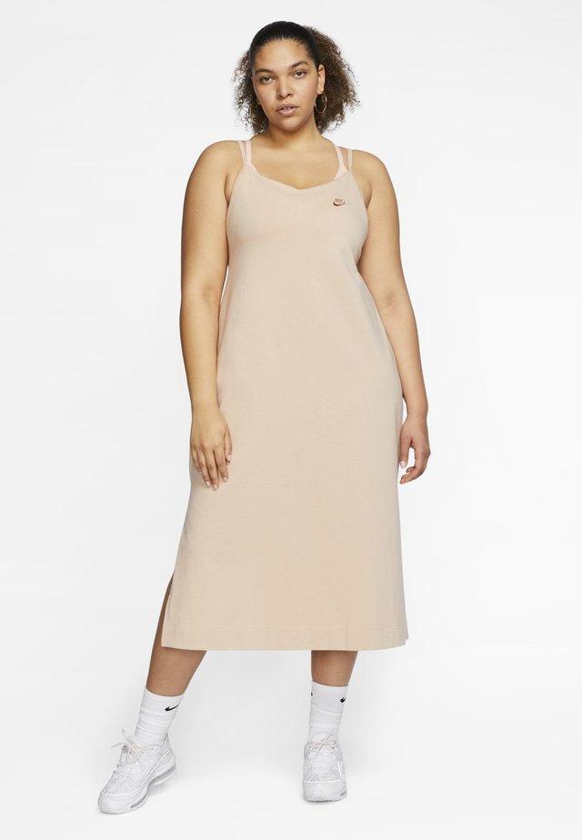 Maxi dress - shimmer/shimmer