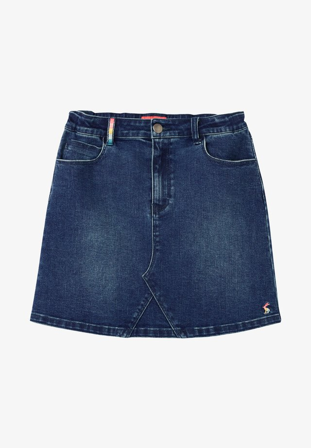 A-line skirt - blaues jeans
