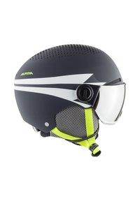 Alpina - ZUPO - Helm - charcoal-neon matt - 2