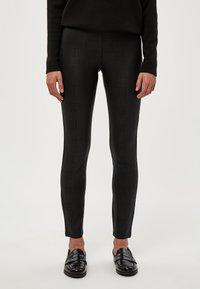 PEPPERCORN - LINETTE  - Leggings - Trousers - black pr - 0
