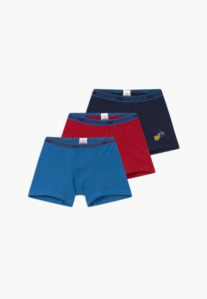 KIDS 3 PACK - Pants - blue/dark blue/red