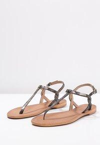 Les Tropéziennes par M Belarbi - BILLY - T-bar sandals - noir - 2