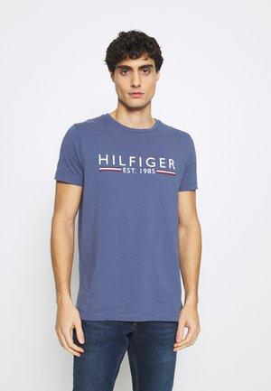 TEE - T-shirt imprimé - blue