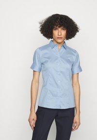 HUGO - ESHILA - Button-down blouse - light pastel blue - 0